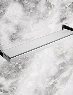 Badeværelseshylde / Rustfrit stålRustfrit stål Glas /Moderne