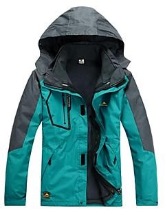 Homens Jaquetas 3-em-1 Prova-de-Água A Prova de Vento Cursor Único Jaquetas 3-em-1 Jaqueta de Inverno Blusas para Acampar e Caminhar