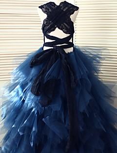φόρεμα φόρεμα κορίτσι λουλουδιών μήκος - μανίκι λουλουδιών λουλουδιών με μανίκια από thstylee