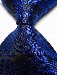 Cravate Vintage / Mignon / Soirée / Travail / Décontracté Polyester,Homme Imprimé Toutes les Saisons