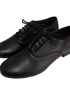 Latin/Modern/Salsa/Încălțăminte Standard - Pantofi de dans (Negru Pentru bărbați