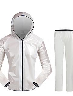 Cyklo bunda a kalhoty Unisex Dlouhé rukávy Jezdit na kole Pláštěnka Vrchní část oděvu Spodní část oděvuVoděodolný Rychleschnoucí