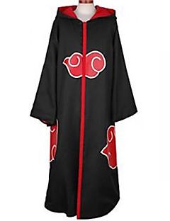 Inspiré par Naruto Akatsuki Manga Costumes de Cosplay Costumes Cosplay Imprimé Manches Longues Manteau Pour Masculin