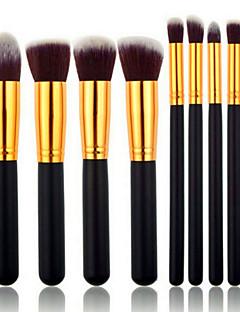 8pcs Brush Lavastus Synteettinen tukka Kasvot / Huuli / Silmä