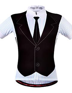 WOSAWE Camisa para Ciclismo Homens Mulheres Unisexo Manga Curta Moto Camisa/Roupas Para Esporte Blusas Secagem Rápida Respirável Tiras