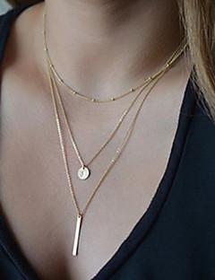 Жен. Ожерелья с подвесками Y-ожерелья Y-образный Сплав Базовый дизайн Мода бижутерия Бижутерия Назначение Для вечеринок Повседневные