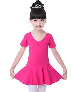 Zullen we ballet jurken kinderen trainen katoen ruched jurk