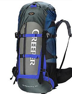60 L Pacotes de Mochilas Organizador de Viagem mochila Acampar e Caminhar Viajar Multifuncional Náilon
