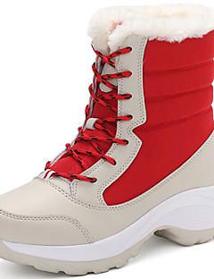 מגפיים-לנשים לילדים נערים בנות-סקי מורד ספורט שלג(אדום שחור בייז')
