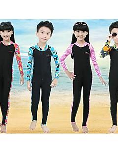 Bluedive Gyermek Nedves ruhák Dive Skins Szörfoverall Melegen tartani Gyors szárítás Ultraibolya biztos Cipzár Fényvédő Teljes védelem