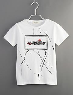 Junge T-Shirt Lässig/Alltäglich Druck Baumwolle Sommer Kurzarm