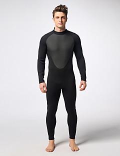 MYLEDI 남성용 3mm 잠수복 전신 잠수복 방수 보온 착용 가능한 YKK 지퍼 네오프렌 잠수복 다이빙 복-수영 다이빙 봄 여름 겨울 가을 클래식