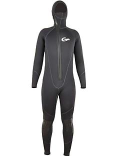 남성용 5mm 전신 잠수복 보온 빠른 드라이 인체 해부학적 디자인 통기성 압축 두꺼운 네오프렌 잠수복 긴 소매 다이빙 복-다이빙 겨울 가을 패션