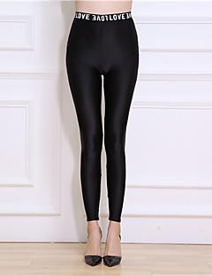 Dames Effen Nylon Dun Effen kleur,Legging Deze stijl klopt precies met de maat.