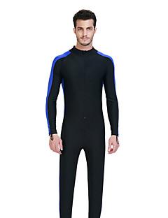 남성용 전신 잠수복 빠른 드라이 통기성 압축 네오프렌 잠수복 긴 소매 다이빙 복-다이빙 봄 여름 클래식