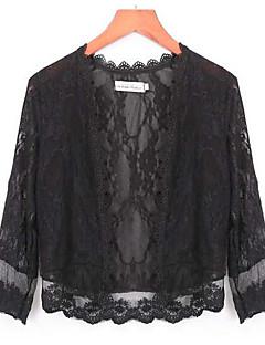 Damen Mantel / Capes,Quadratischer Ausschnitt Baumwolle