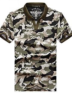 남성용 티셔츠 캠핑 & 하이킹 통기성 여름