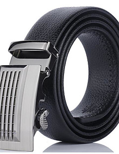 Men's Alloy Waist Belt,Work Solid