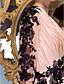 Ίσια Γραμμή Λαιμόκοψη V Μακρύ Σιφόν Χορός Αποφοίτησης Επίσημο Βραδινό Μαύρο γκαλά Φόρεμα με Διακοσμητικά Επιράμματα Χιαστί με TS Couture®