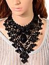 Dame Coliere Choker Coliere cu Pandativ Lănțișoare Cristal Turn Piatră Preţioasă costum de bijuterii Bijuterii Pentru Petrecere