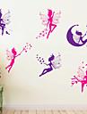 autocolante de perete de perete stil decalcomanii autocolante de perete de desene animate pvc spirit