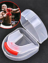 Protege-dents Taekwondo Sanda Muay-thai Boxe Karate Portable Multifonction Double Face Equipement de protectionLe Gel de Silice Materiau