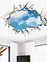 Forme #D Perete Postituri 3D Acțibilduri de Perete Autocolante de Perete Decorative,Vinil Material Detașabil Pagina de decorarede perete