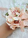 Flori de Nuntă Formă liberă Bujori Corsaj de mână Nuntă Petrecere / Seară Poliester