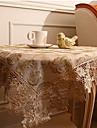 Pătrat Mată Floral Fețe de masă , Poliester Material