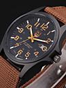 Bărbați Copii Ceas Sport Ceas Militar Ceas Elegant Ceas de Mână Quartz Iluminat Material Bandă Vintage Casual Negru Albastru MaroNegru