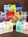 100 Piece / Set Favor Holder-Piramidă Hârtie perlă Cutii de Savoare Cutii de Cadouri Nepersonalizat