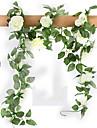 Une succursale Soie Roses Fleur de Table Fleurs artificielles #(78.74x1.97x1.97)