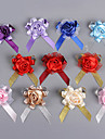 Flori de Nuntă Rotund Trandafiri Butoniere Nuntă Petrecere / Seară Poliester Satin Mătase Organza