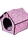 Chien Couchages Animaux de Compagnie Tapis & Planches Coeur Chaud Doux Fuchsia Bleu Rose