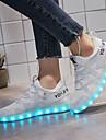 Damă Adidași Tălpi cu Lumini Pantofi Usori Tul Primăvară Toamnă De Atletism Casual Plimbare Tălpi cu Lumini Pantofi Usori Dantelă Toc Jos
