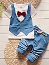 Băieți Seturi Peteci Bumbac Vară Manșon Scurt Set Îmbrăcăminte