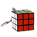 billige Rubiks kuber-3*3*3 Magiske kuber Nøkkelring Mini Gave Søtt Plast 1/5/10 pcs Deler Voksne Barne Gutt Jente Leketøy Gave