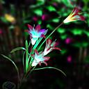 billige Pathway Lights-solenergi ledet blomst lys (1049-cis-28079)