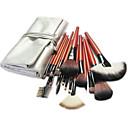 billige Mode Armbånd-18pcs Make-up pensler Professionel Brush Sets Ponybørste / Nylon Børste / Syntetisk Hår Stor Børste / Klassisk / Mellem Børste
