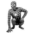 hesapli Banyo Aksesuarları-Zentai Kıyafetleri Süper Kahramanlar Örümcekler Film & TV Temalı Kostümleri Zentai Cosplay Kostümleri Siyah Desen Kırk Yama Strenç Dansçı