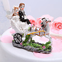 cheap Earrings-Cake Topper Garden Theme Vehicle Classic Couple Resin Wedding Bridal Shower with Gift Box