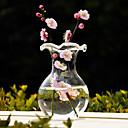 baratos Decorações para Casamento-Amuleto Material Vidro Centro de Mesas Vasos Conjuntos de Toalhas de Mesa Cor Única Primavera Verão Outono Inverno