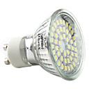 baratos Lâmpadas de LED-3W 250-300lm GU10 Lâmpadas de Foco de LED MR16 48 Contas LED SMD 3528 Branco Natural 220-240V