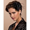 ieftine Accesorii Păr de Petrecerere-fasolele de tul brăzdări de bivol vopsite în stil clasic feminin
