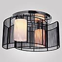 baratos Luminárias de Teto-SL® Montagem do Fluxo Luz Ambiente Galvanizar Metal Tecido Estilo Mini 110-120V / 220-240V Lâmpada Não Incluída / E26 / E27
