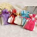 cheap Favor Holders-Creative Satin Favor Holder with Ribbons Pattern Favor Bags - 12