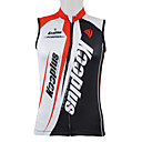 cheap Synthetic Capless Wigs-Kooplus Men's Sleeveless Cycling Jersey - Red Blue Patchwork Letter & Number Bike Vest / Gilet Jersey Top, Breathable Quick Dry 100% Polyester