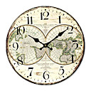 billige Putevar-Country World Wall Clock