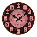 billige Kunstige planter-Mediterranean Wall Clock