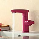 tanie Podkładki stołowe-Lightinthrbox Baterie kuchenne Sprinkle® - Przejściowy Brąz przetarty olejem Umieszczona centralnie Jeden otwór